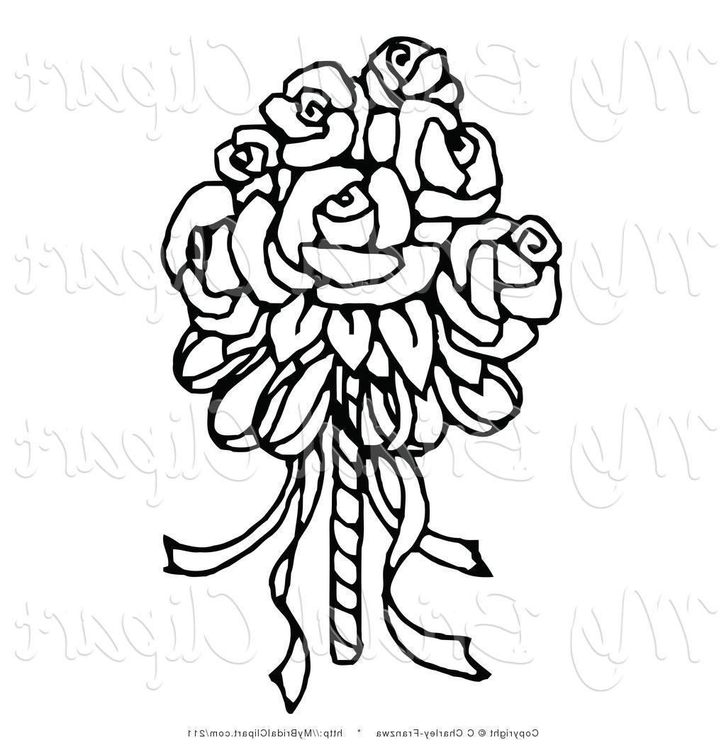 1024x1044 Flower Clip Art Black And White Images