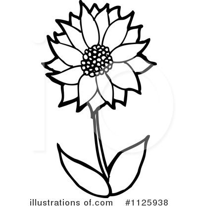 Spring flowers clipart black and white free download best spring 400x420 royalty free flower clipart 48 mightylinksfo