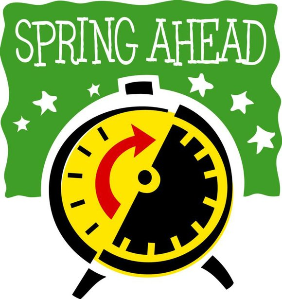 580x615 Set Clocks Forward An Hour Sunday For Dst The Times Weekly