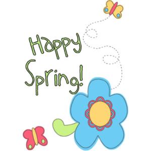 300x300 Happy Spring Clip Art Many Interesting Cliparts