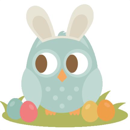 432x432 Easter Owl Svg Cutting File Easter Svg Scrapbook Title Easter Svg