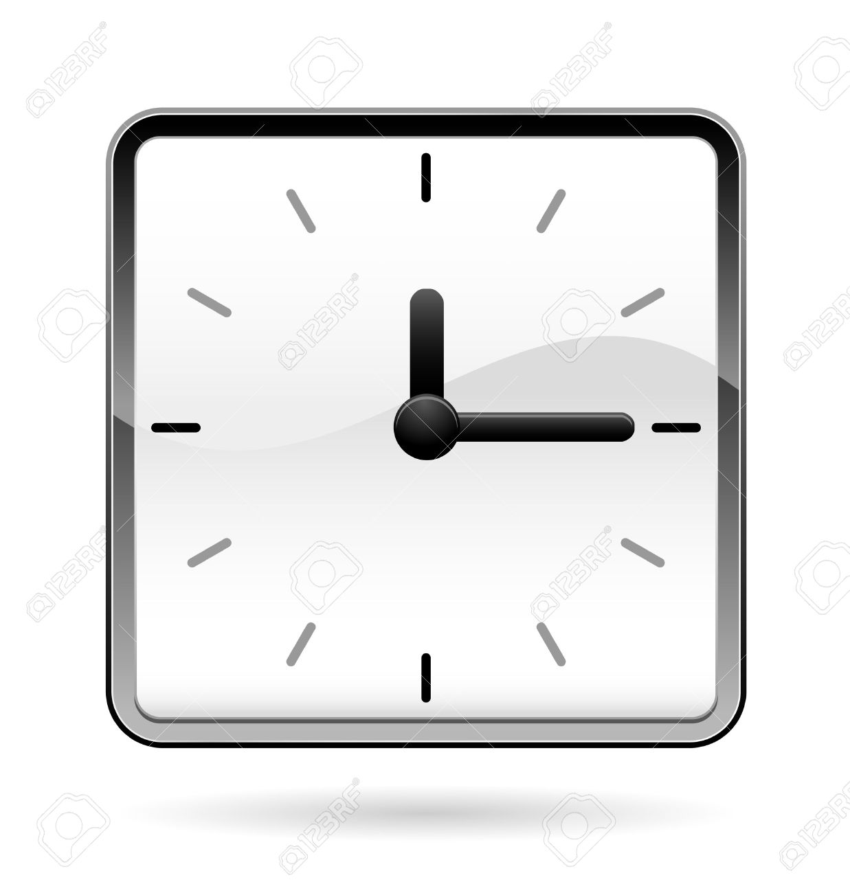 1237x1300 Clock Clipart Square