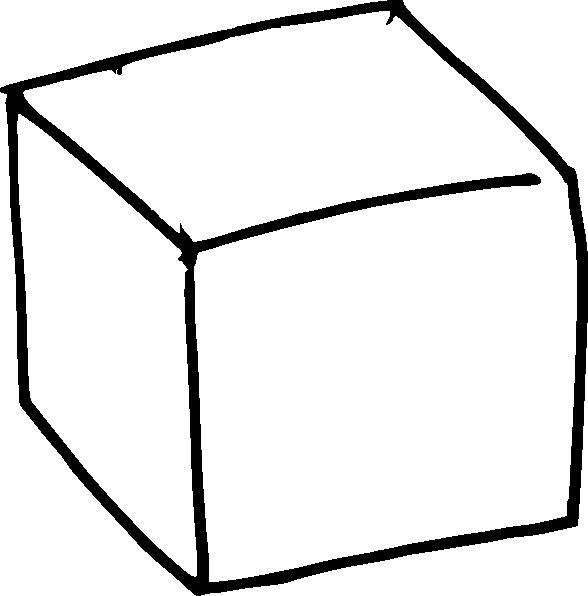 588x596 3d Cube Clip Art
