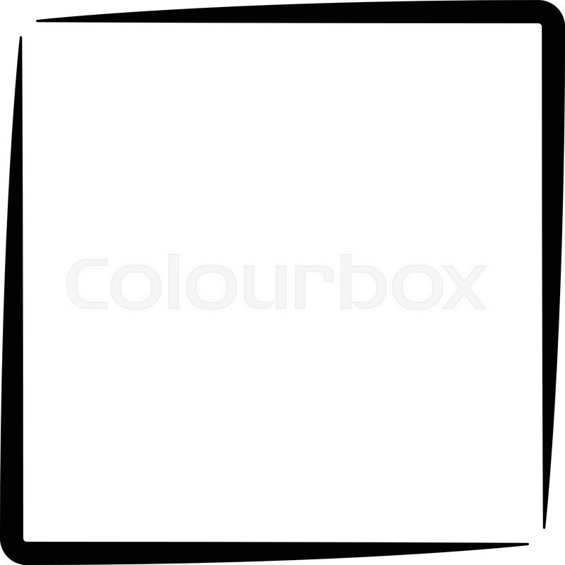 800x800 Square Clipart Black Border