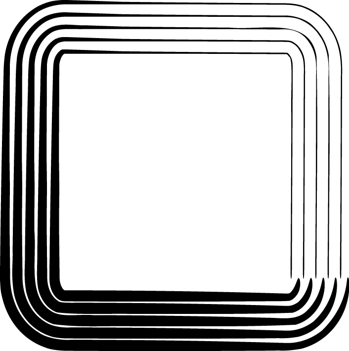706x710 Square Clipart Black Square Frame