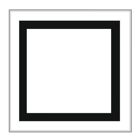 465x465 Squares Clipart Black And White