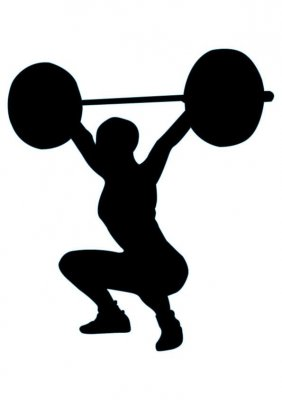 282x400 Squat Snatch Clip Art Cliparts