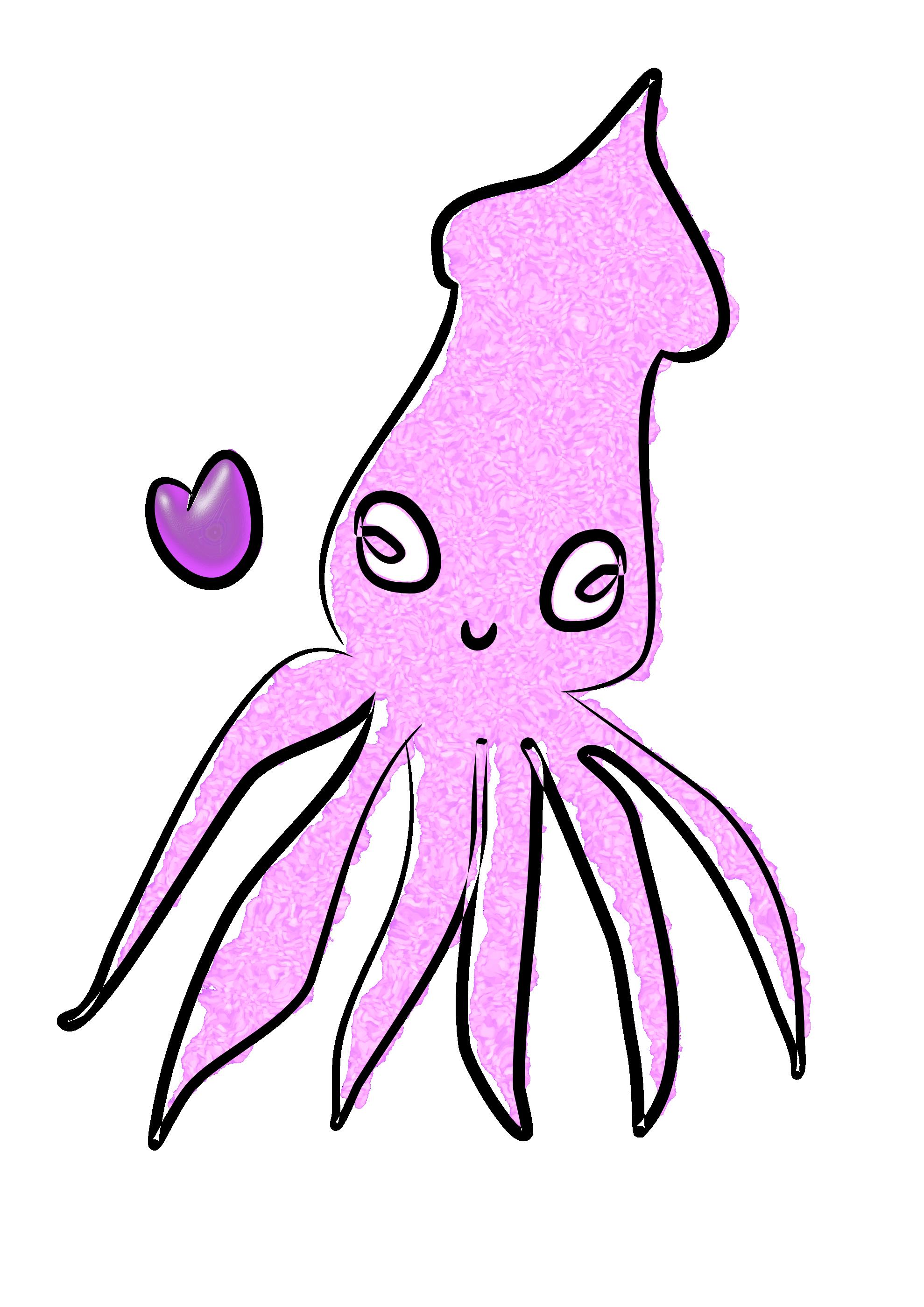 1979x2799 Squid Clipart Squid Clipart Fans