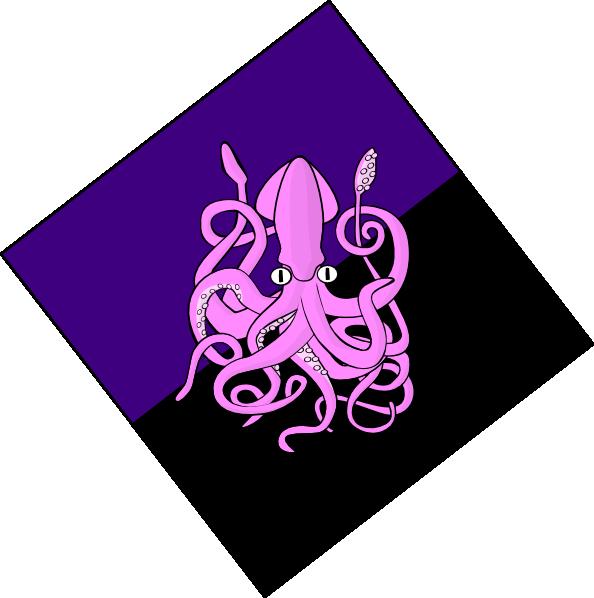 594x598 Giant Squid Clip Art