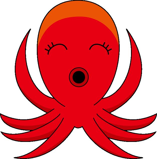 627x633 Squid Clipart 4