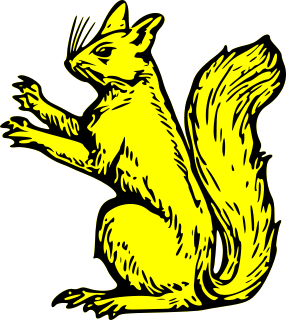 286x320 Free Heraldic Squirrel Clipart, 1 Page Of Public Domain Clip Art