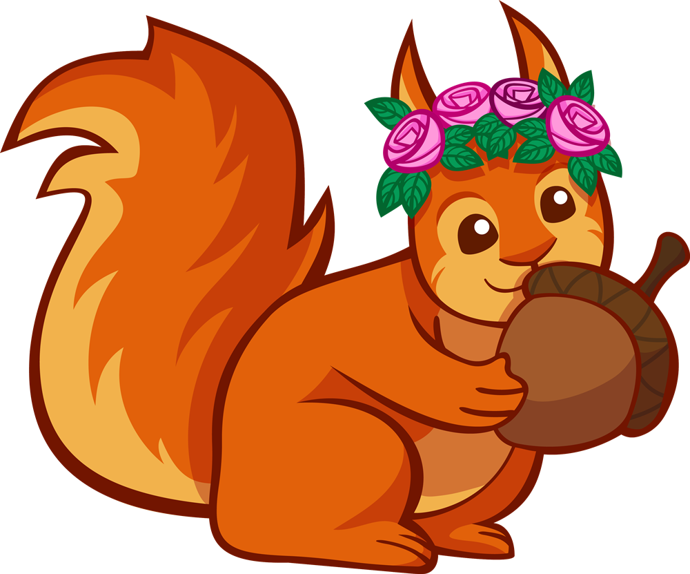 1000x831 Red Squirrel Clipart Cute Squirrel