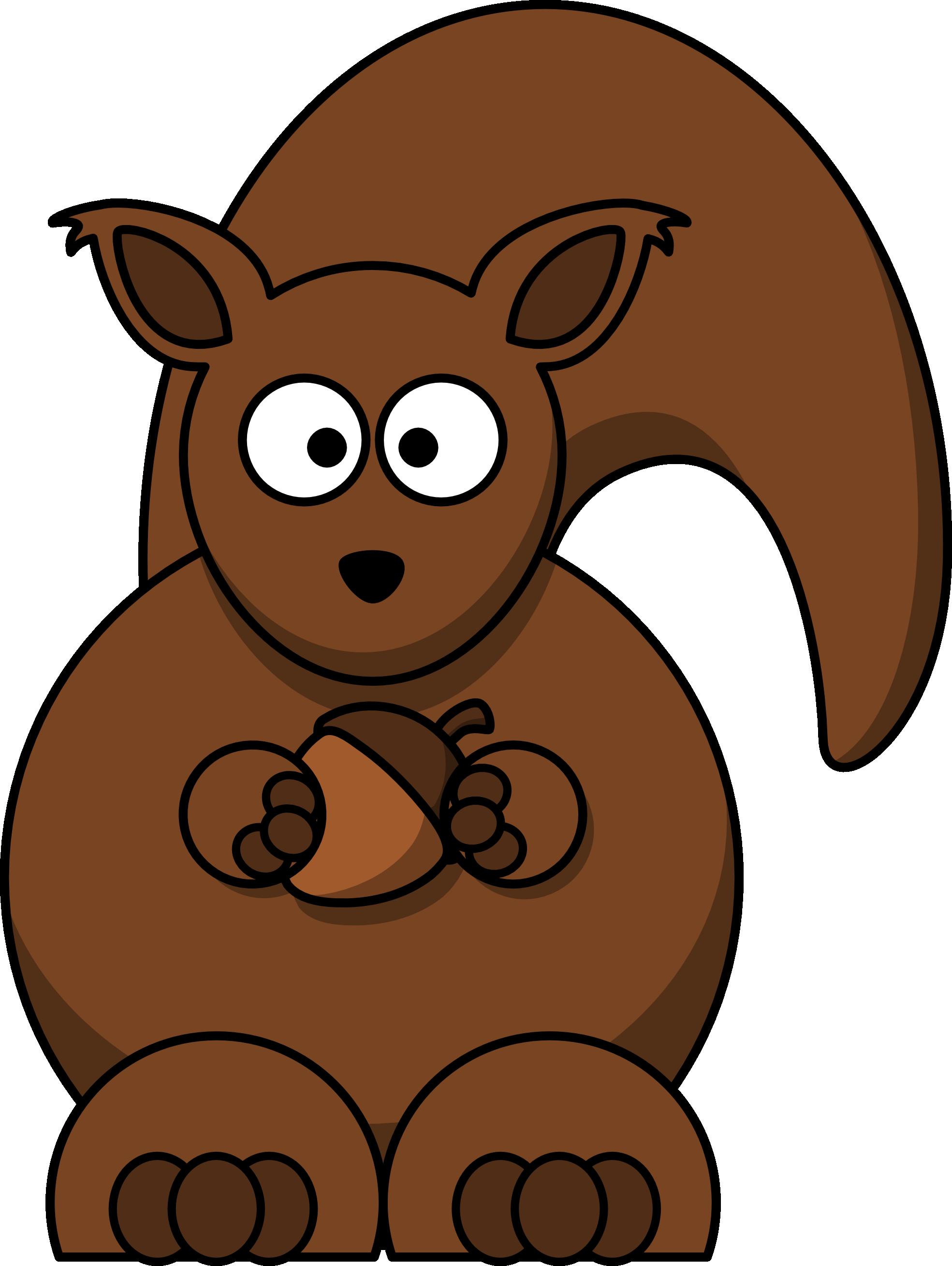 1969x2616 Squirrel Clipart