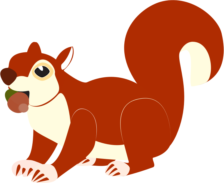 762x622 Squirrel Clip Art Vector Free Clipart Images Clipartcow 3