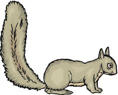236x191 Squirrel Template For Lukas's Quiet Book Crafting
