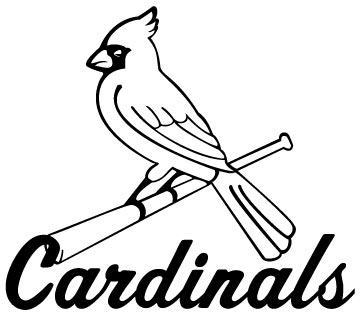 361x316 St Louis Cardinals Logo Decal
