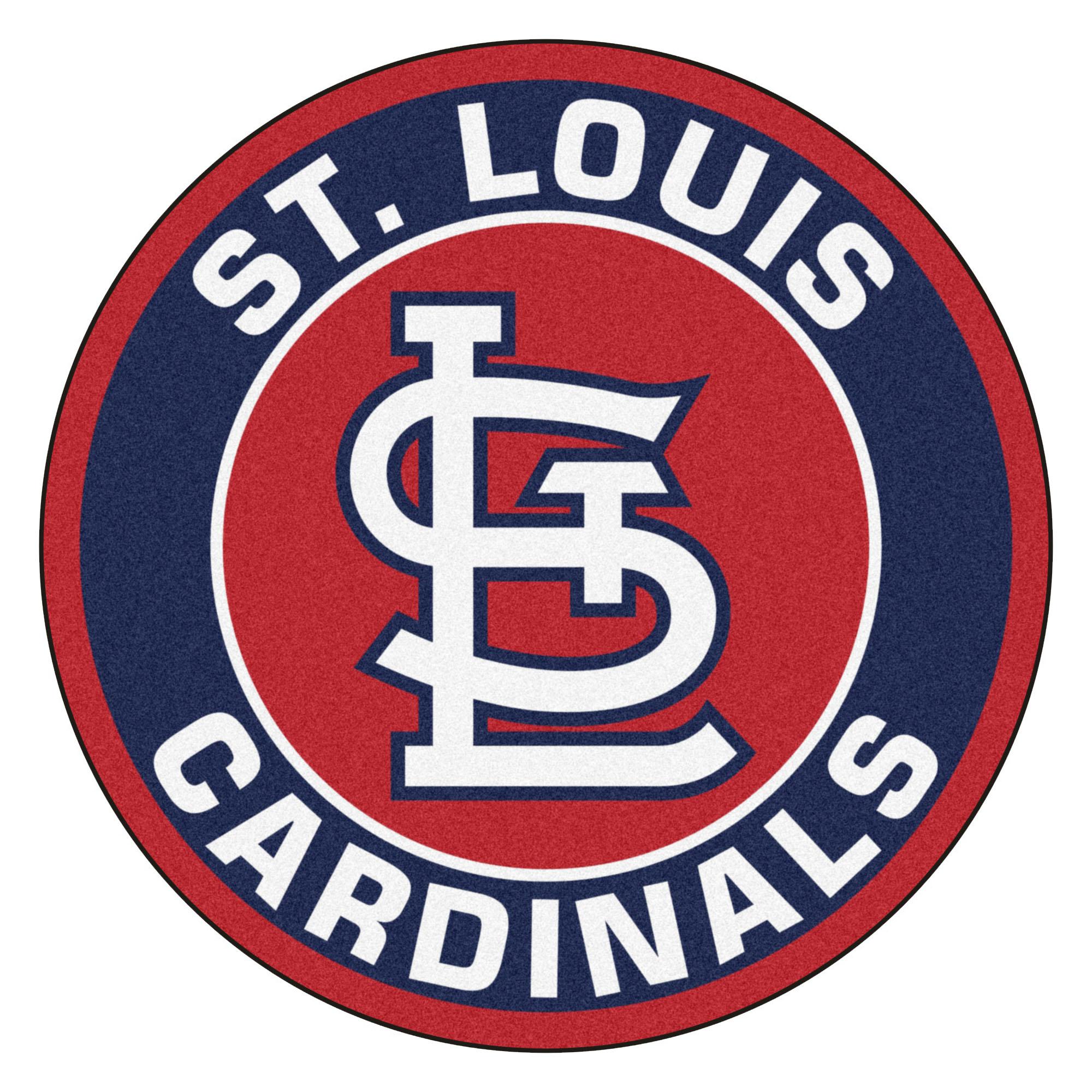 2000x2000 St. Louis Cardinals Logo Roundel Mat