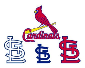 340x270 St Louis Cardinals Svg Baseball