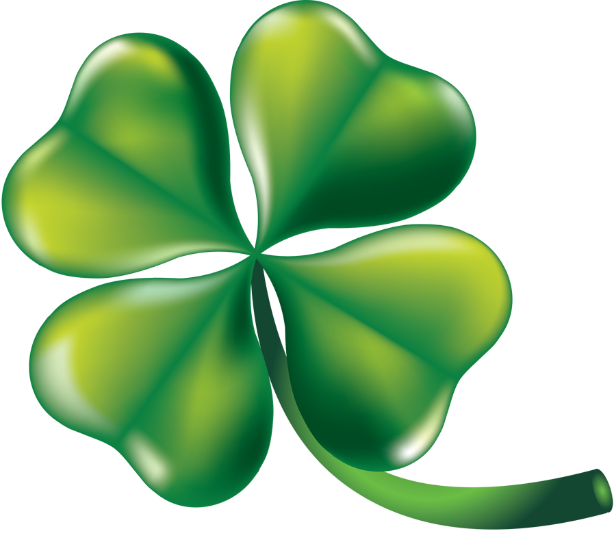 897x792 Free Clip Art Holiday Clip Art St. Patrick's Day Four Leaf