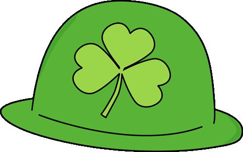 500x313 Saint Patrick's Day Hat Clip Art