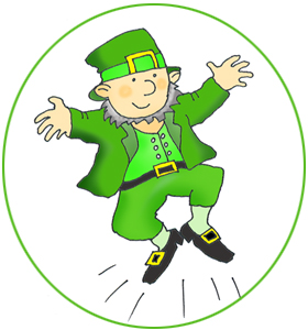 280x300 St Patrick's Day Clipart