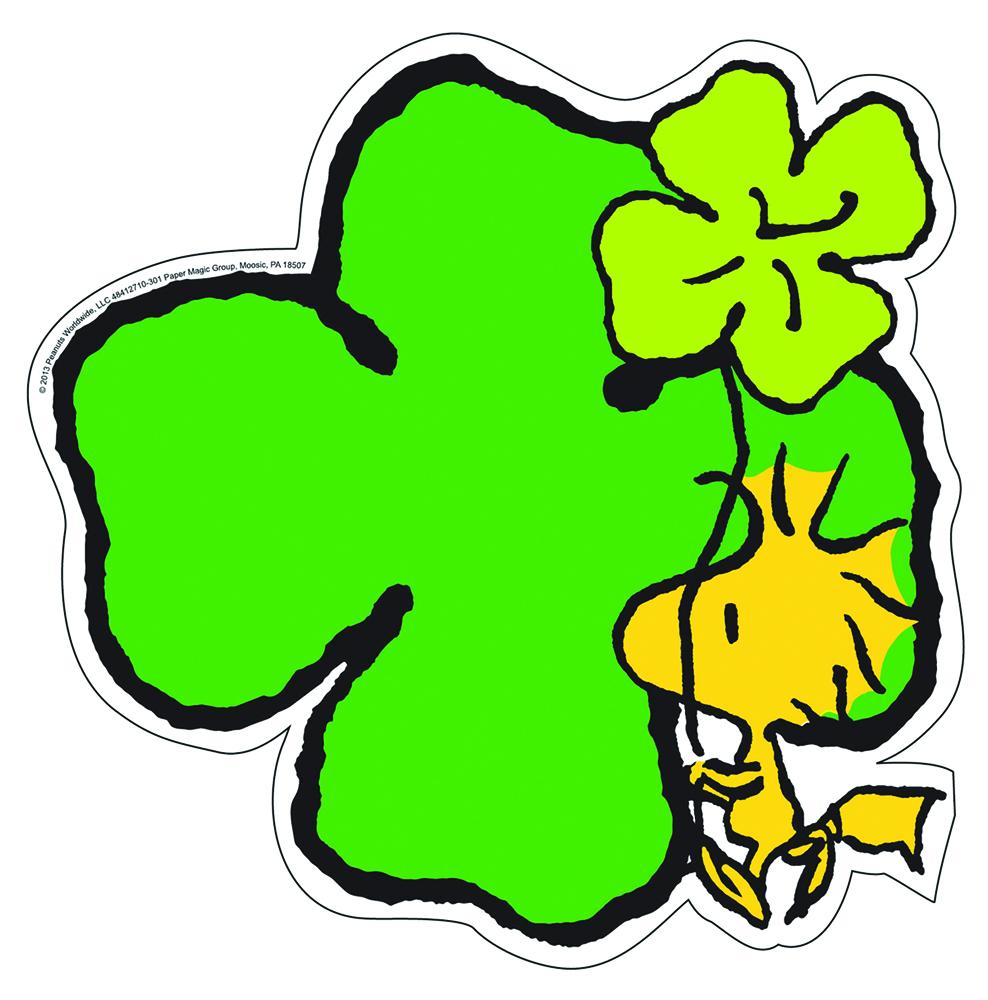 988x1000 Peanuts St. Patrick's Day Paper Kids Cut Outs Eureka School