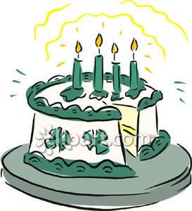 273x300 Patrick's Day Cake