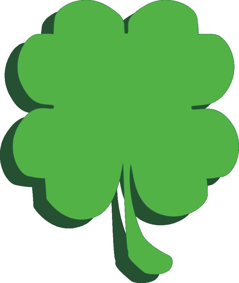 832x985 Shamrock Free St Patrick Clip Art Clipartix 2
