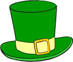 250x213 Green Leprechaun Hat Clip Art