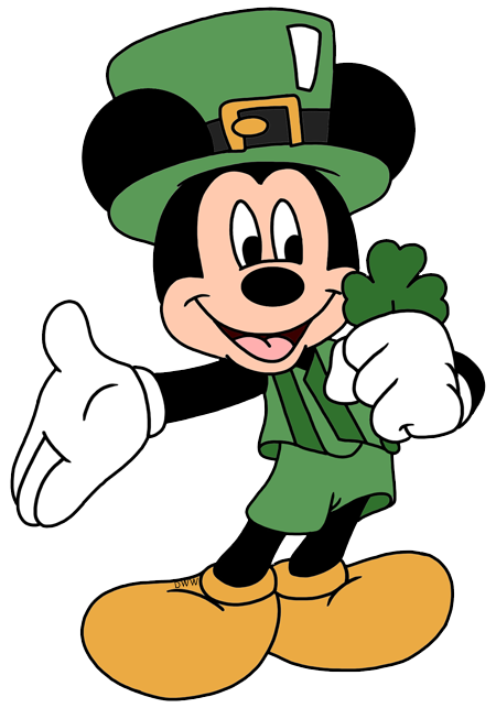 450x643 Mickey Mouse Clipart St Patricks Day