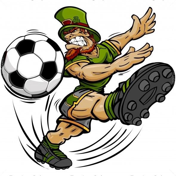 590x590 St Patricks Day Soccer Clip Art