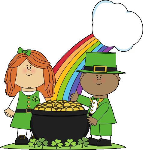 476x500 St. Patrick's Day Clip Art