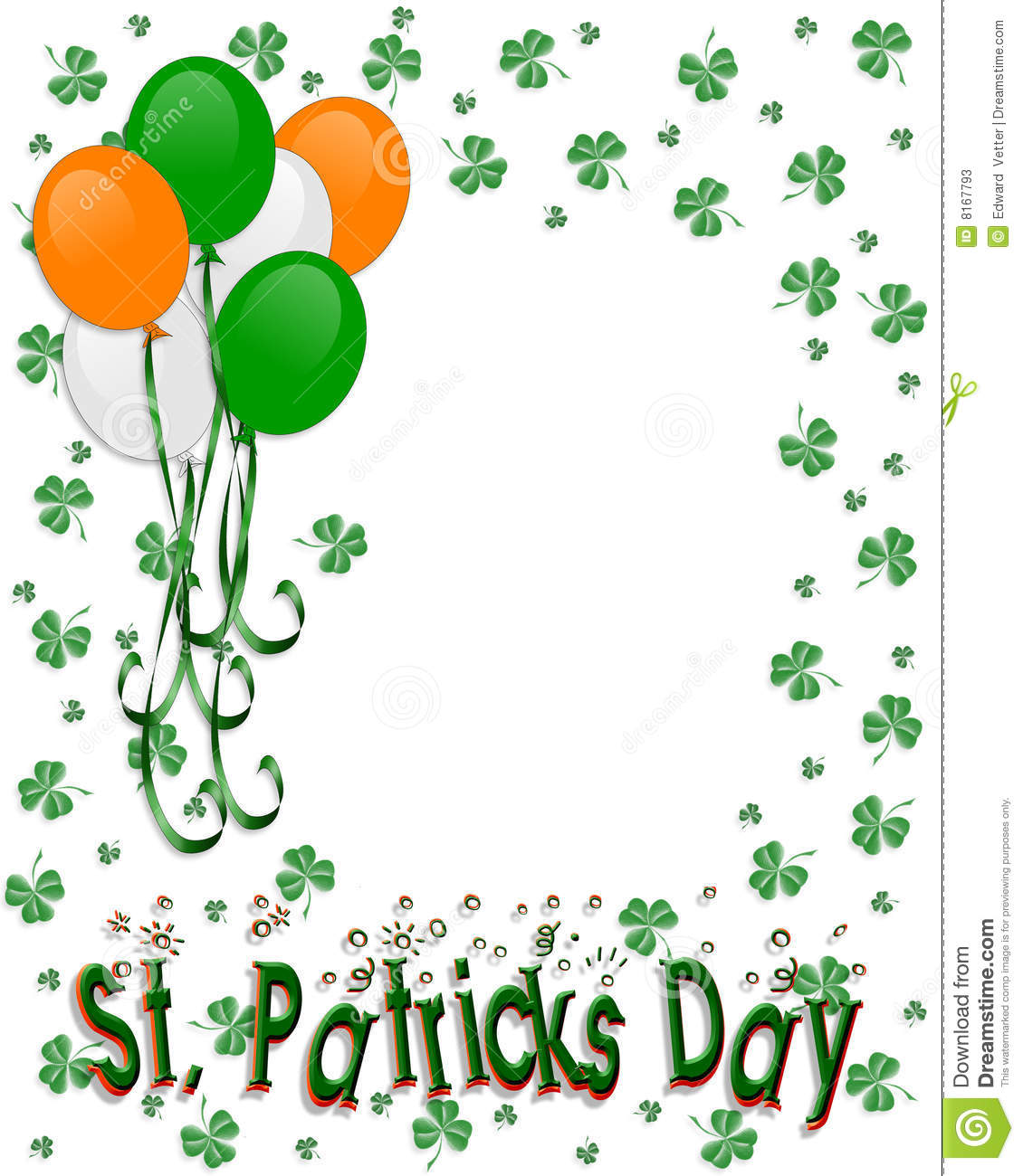 graphic about Free Printable Clipart for St Patrick's Day named St Patrick S Clipart No cost down load least difficult St Patrick S