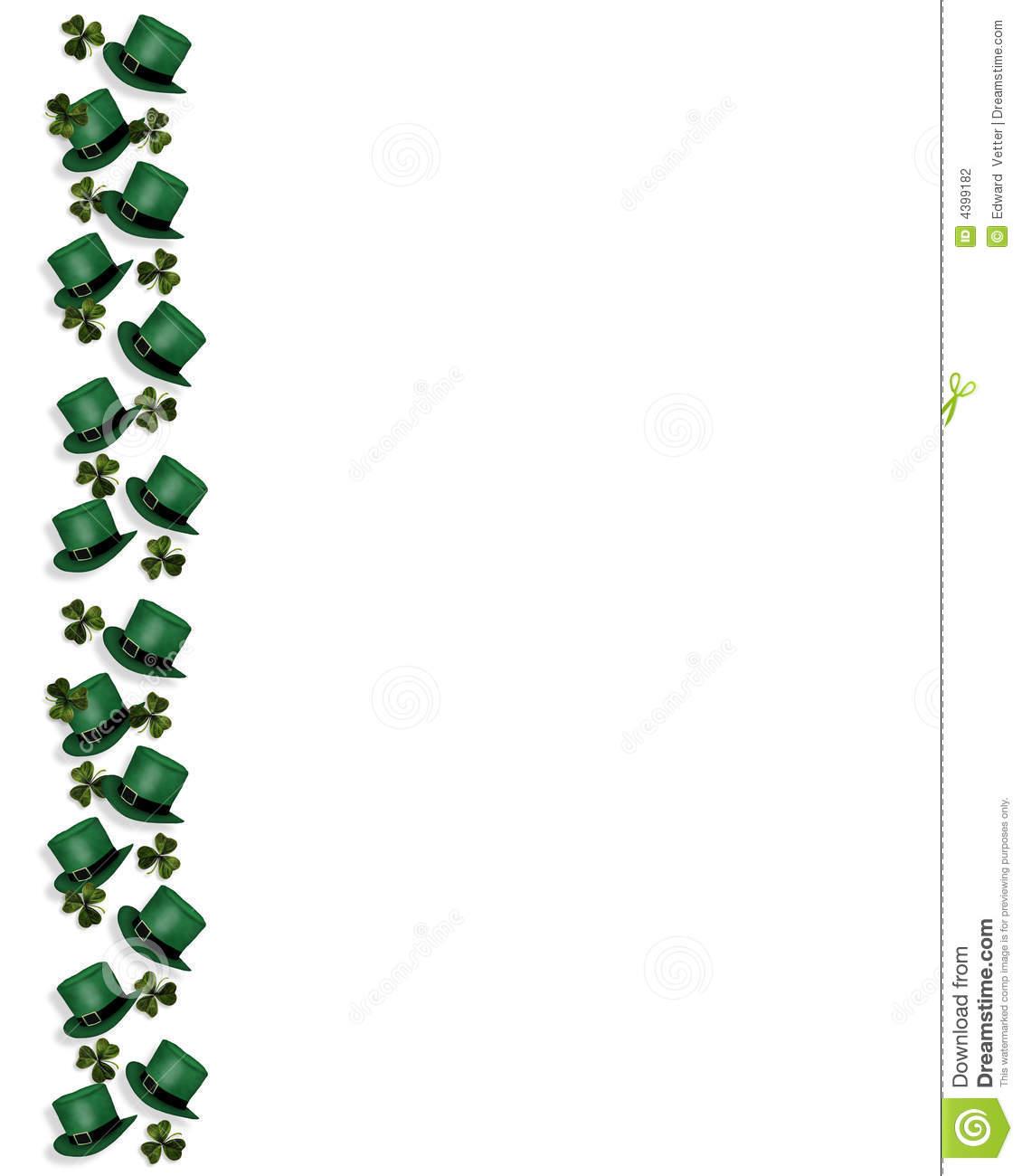 1130x1300 St. Patrick's Day Clipart St Patrick's Day Border Clipart