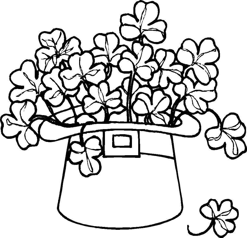 1024x986 St.patrick's Day Coloring Pages Celebrate St. Patrick's Day