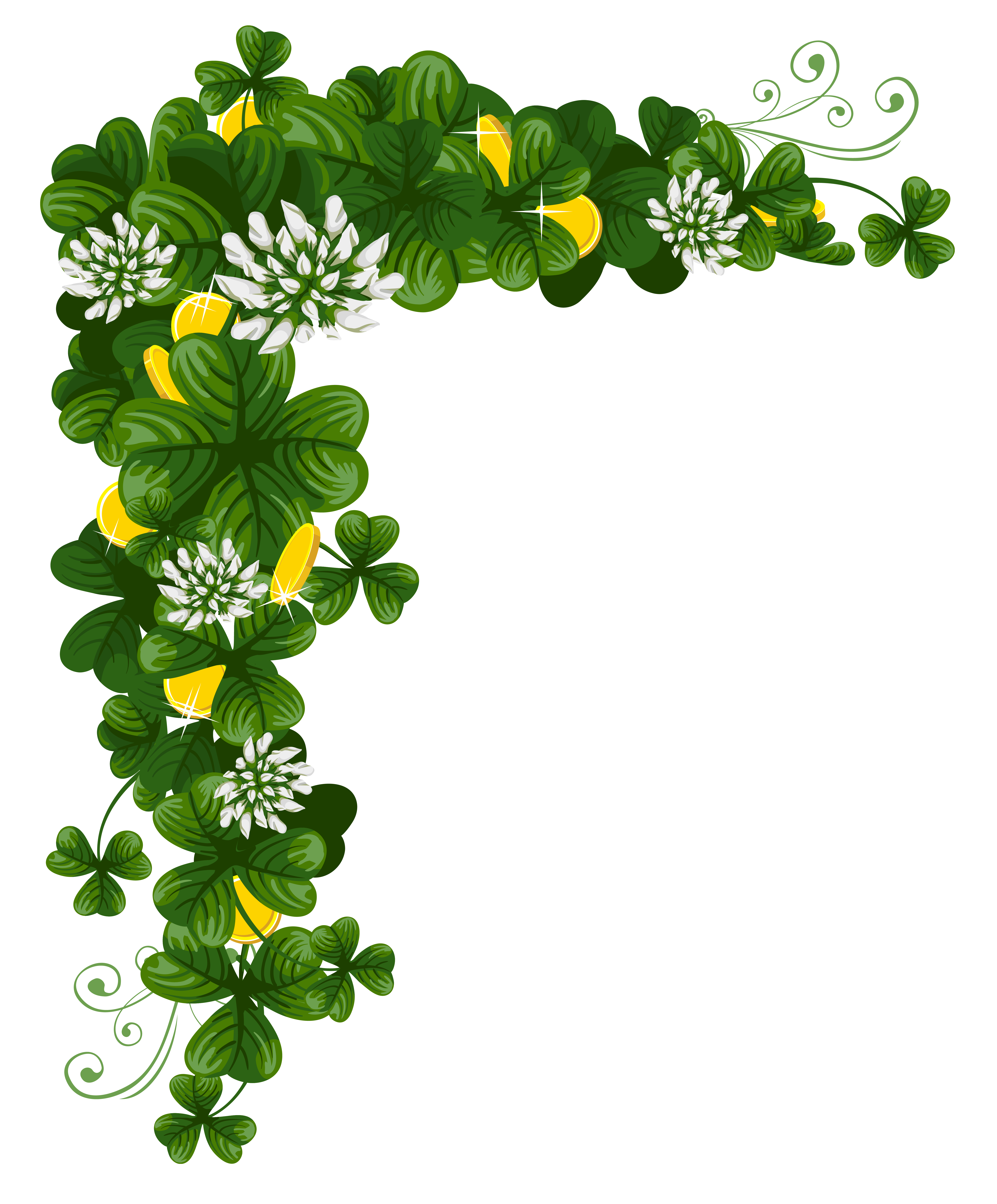 5661x6840 Background Clipart St Patrick's Day