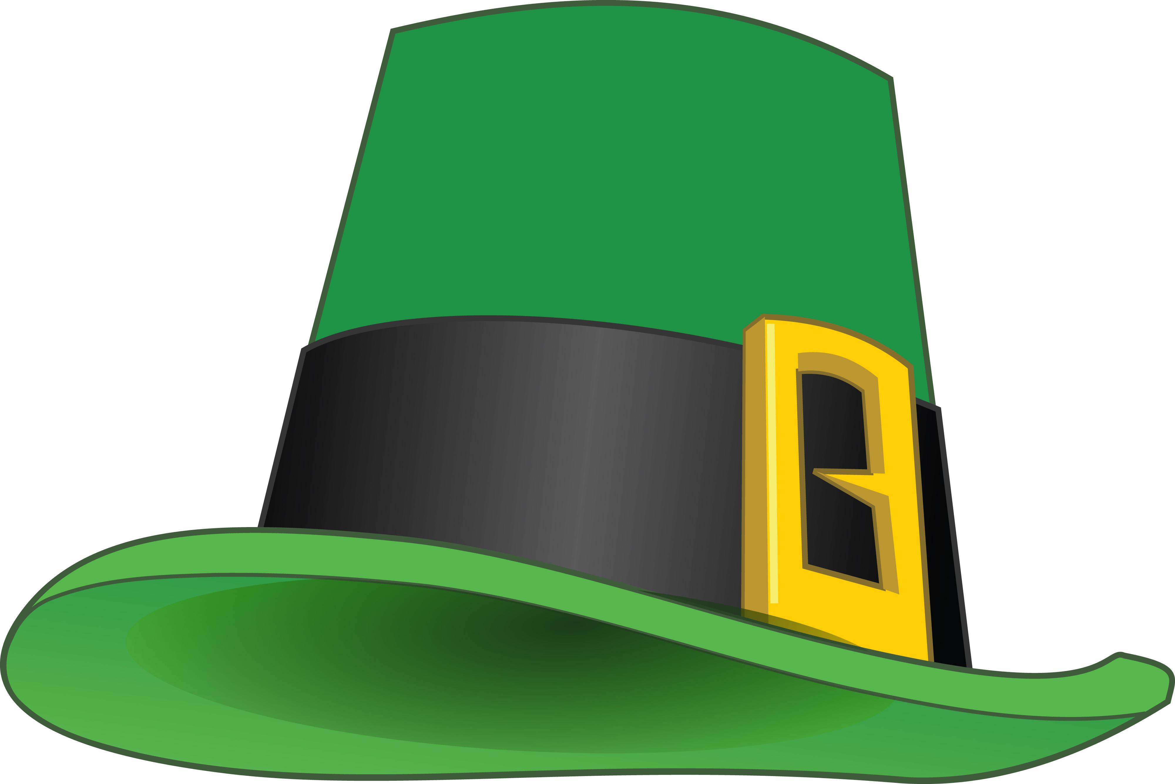 4000x2667 Clipart Of A St Patricks Day Leprechaun Hat