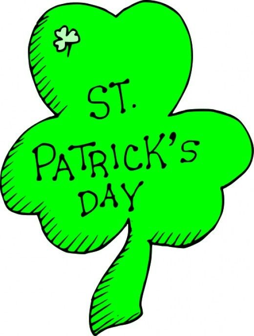 520x687 St Patricks Clipart Collection