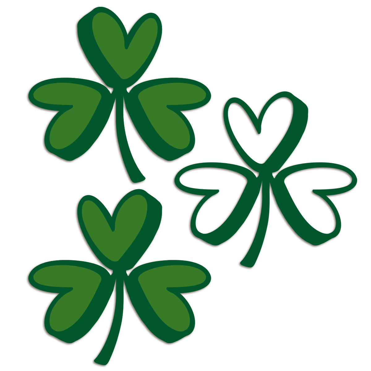 1200x1200 Bits Of Paper St. Patrick's Day