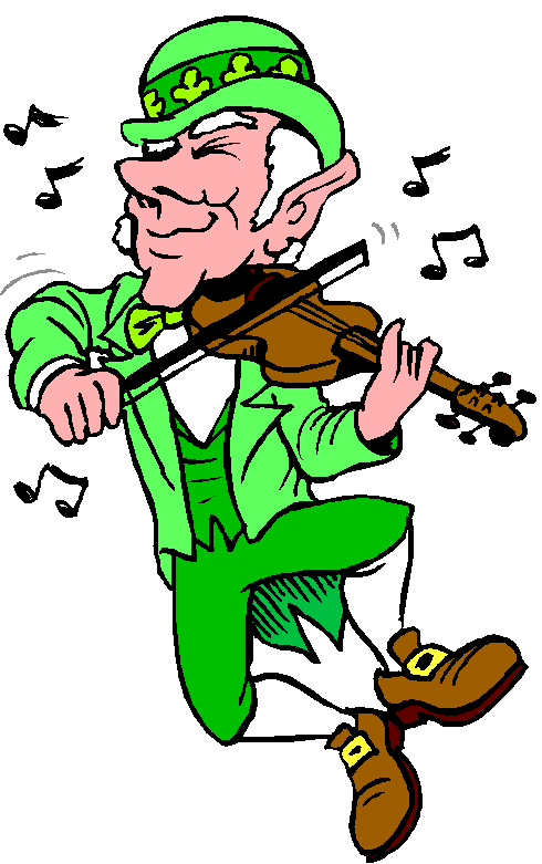 490x781 St Patricks Day Dance Clipart