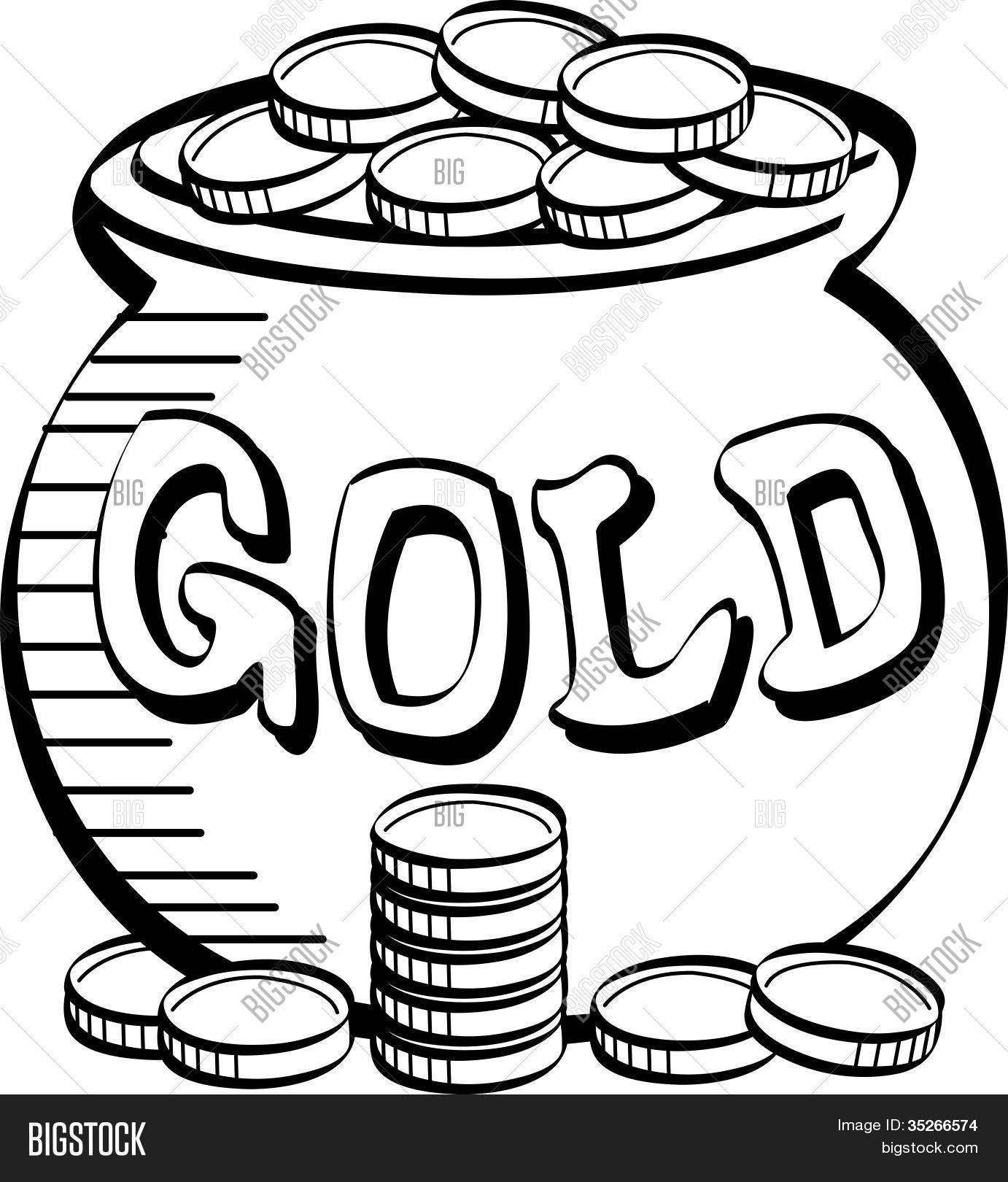 1382x1620 St. Patrick's Day Pot Gold Clip Vector Amp Photo Bigstock