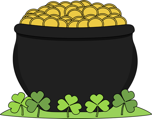 500x390 Golden Clipart St Patricks Day