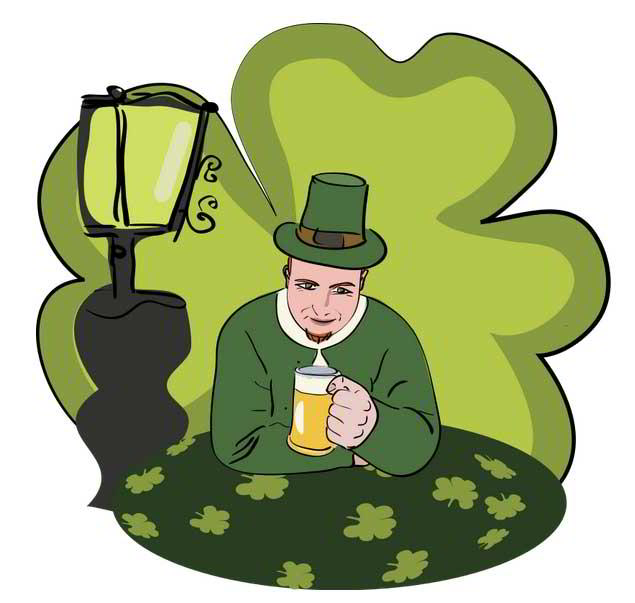 635x603 St. Patrick's Day Web Design Freebies Free Your Hands For A Mug