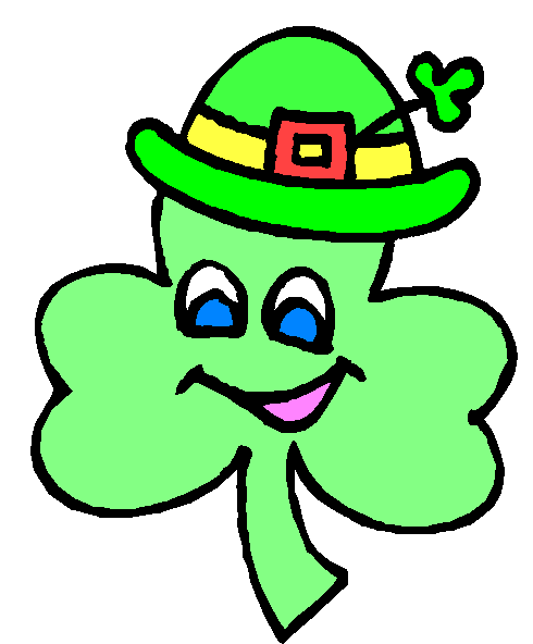 490x592 Free St Patricks Day Greetings Clipart