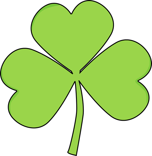 488x500 Saint Patrick's Day Shamrock Clip Art
