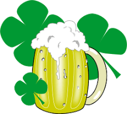 250x224 St Patrick's Day Clip Art Borders