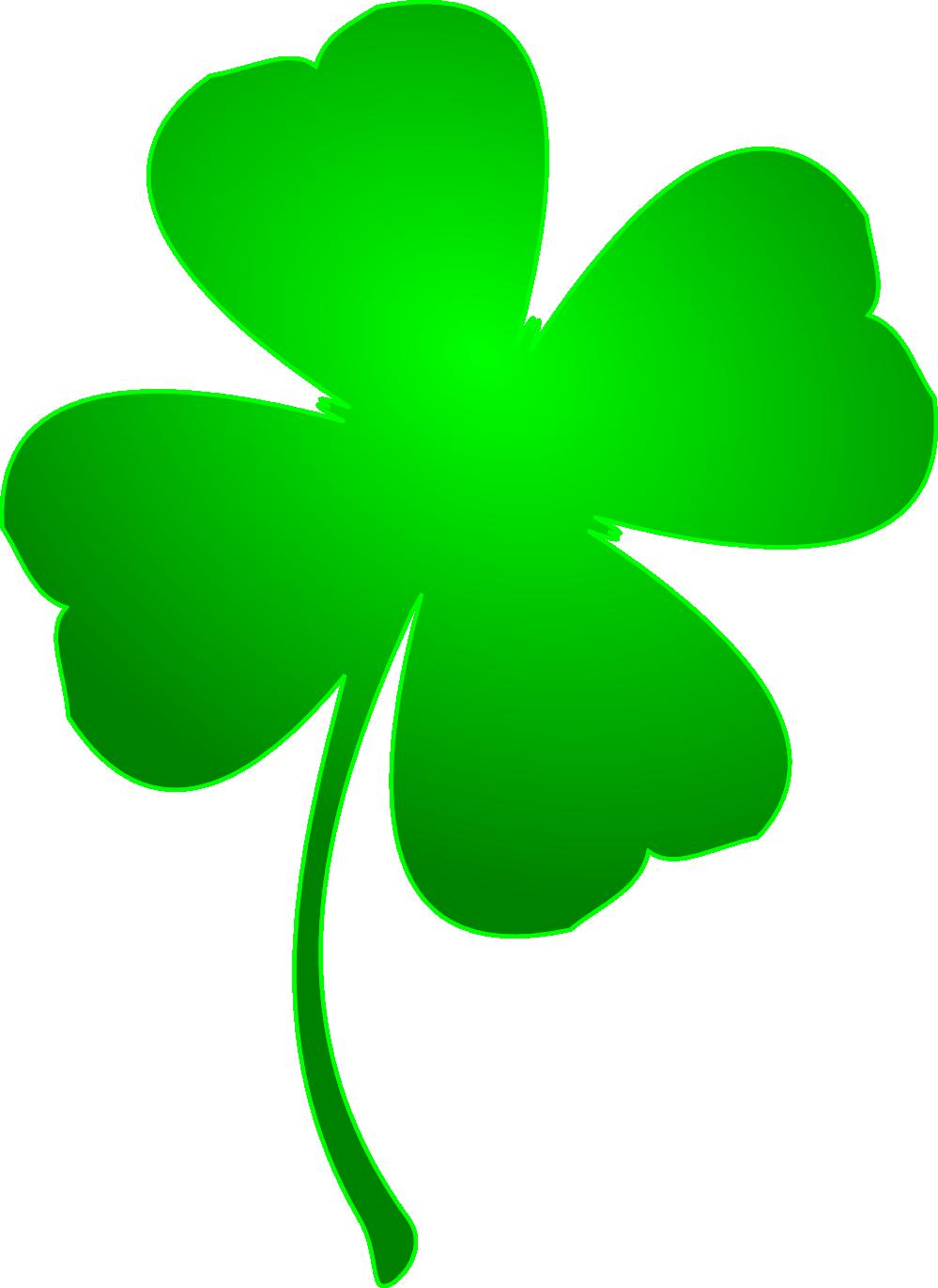 999x1371 Clip Art Irish Lucky Clover Saint Patricks Day