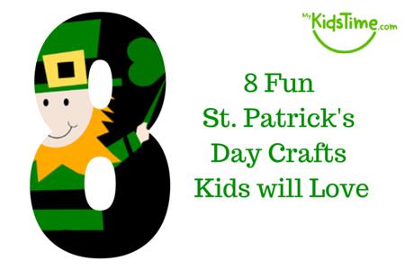 450x300 8 Fun St Patrick's Day Crafts Kids Will Love