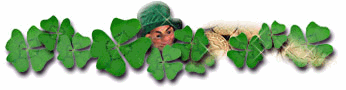 346x90 Free St Patricks Day Borders Clipart