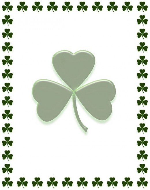 520x658 Free St. Patrick's Day Shamrocks Clip Art Images Hubpages